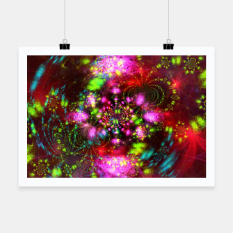 Miniaturka Zest Tunnel (abstract, psychedelic design) Poster, Live Heroes