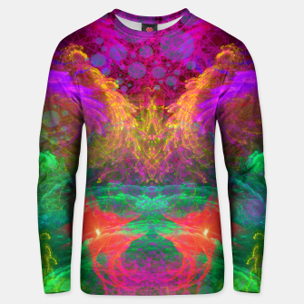 Thumbnail image of Whirlpool Ecstasy (visionary, abstract, psychedelic) Cotton sweater, Live Heroes