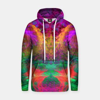 Thumbnail image of Whirlpool Ecstasy (visionary, abstract, psychedelic) Cotton hoodie, Live Heroes