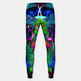 Thumbnail image of Beamed Down Alien Cotton sweatpants, Live Heroes