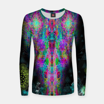 Thumbnail image of DMT Shock  Woman cotton sweater, Live Heroes