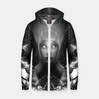 Thumbnail image of Riddian Queen Of Fire Oracle GS ISO GEOPAT ZM Cotton zip up hoodie, Live Heroes