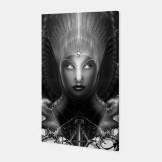 Thumbnail image of Riddian Queen Of Fire Oracle GS ISO GEOPAT ZM Canvas Print, Live Heroes