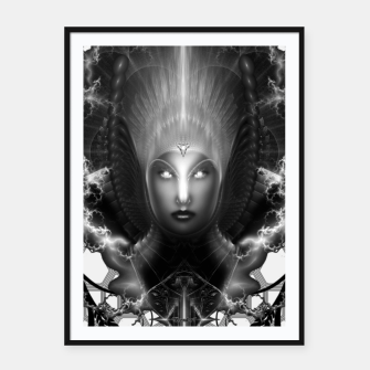 Thumbnail image of Riddian Queen Of Fire Oracle GS ISO GEOPAT ZM Framed poster, Live Heroes