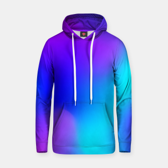Thumbnail image of Deep blue Cotton hoodie, Live Heroes