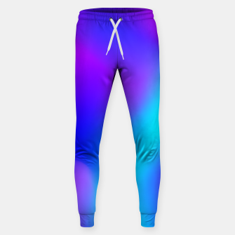 Thumbnail image of Deep blue Cotton sweatpants, Live Heroes