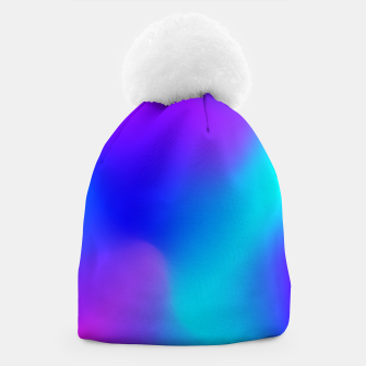 Thumbnail image of Deep blue Beanie, Live Heroes