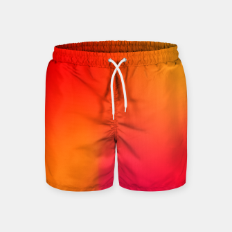 Thumbnail image of Burning red Swim Shorts, Live Heroes