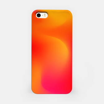 Thumbnail image of Burning red iPhone Case, Live Heroes