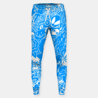Thumbnail image of YOUTH'S DREAMS Cotton sweatpants, Live Heroes