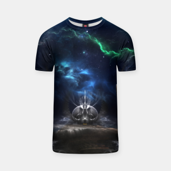 Thumbnail image of Galactic Ocean Waves ZM T-shirt, Live Heroes
