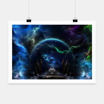 Thumbnail image of Galactic Ocean Waves ZM Poster, Live Heroes