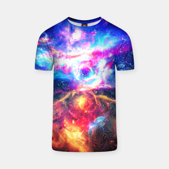 Thumbnail image of Colorful Galaxy T-shirt, Live Heroes