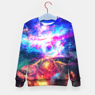 Colorful Galaxy  Kid's sweater thumbnail image