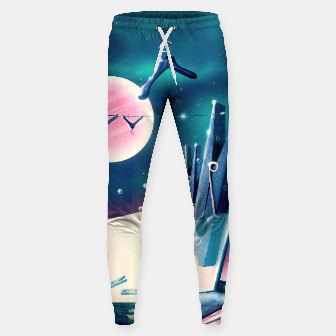 Image of Moon Wash Cotton sweatpants - Live Heroes