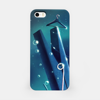 Miniatur Moon Wash iPhone Case, Live Heroes