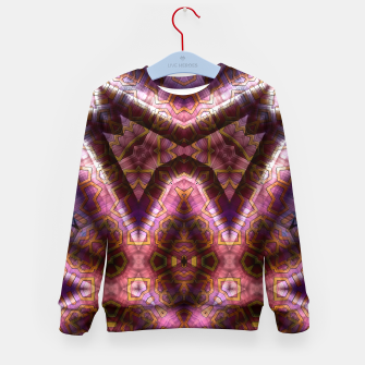 Thumbnail image of Glyphcryption II Kid's sweater, Live Heroes