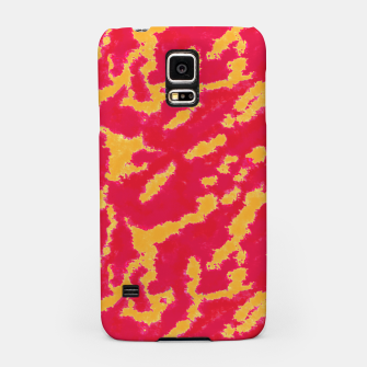Thumbnail image of Red and Orange Abstract Pattern Samsung Case, Live Heroes