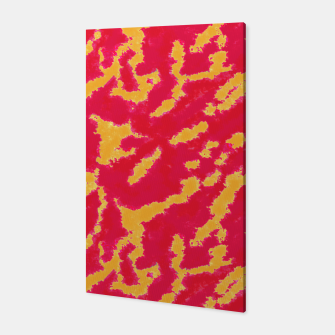 Thumbnail image of Red and Orange Abstract Pattern Canvas, Live Heroes