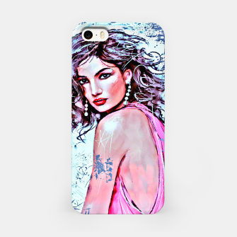 Miniatur  Fashion girl iPhone Case, Live Heroes