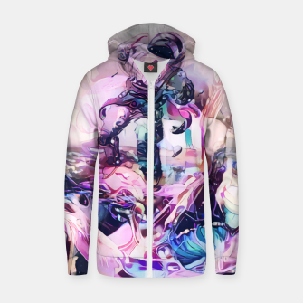 Thumbnail image of Champagnaut Cotton zip up hoodie, Live Heroes