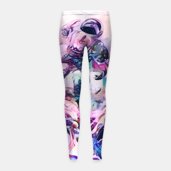 Thumbnail image of Champagnaut Girl's leggings, Live Heroes