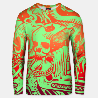 Thumbnail image of Skull Doodle Color 1 Cotton sweater, Live Heroes