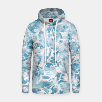 Thumbnail image of Marbled Water Nature Abstract |  Cotton hoodie, Live Heroes