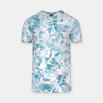 Thumbnail image of Marbled Water Nature Abstract |  T-shirt, Live Heroes