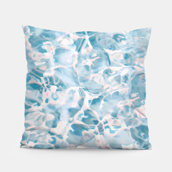 Thumbnail image of Marbled Water Nature Abstract |  Pillow, Live Heroes
