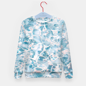 Thumbnail image of Marbled Water Nature Abstract |  Kid's sweater, Live Heroes