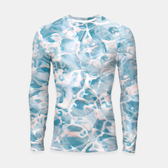 Thumbnail image of Marbled Water Nature Abstract |  Longsleeve rashguard , Live Heroes