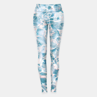 Thumbnail image of Marbled Water Nature Abstract |  Leggings, Live Heroes