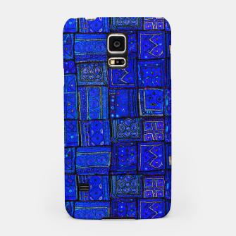 Thumbnail image of Lovely Calm Blue Traditional Moroccan Pattern Artwork   Samsung Case, Live Heroes