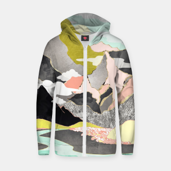 Thumbnail image of Summer River Cotton zip up hoodie, Live Heroes