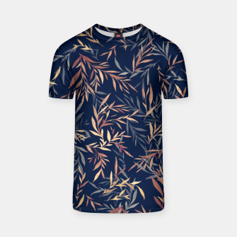 Thumbnail image of Simple Form Leaf T-shirt, Live Heroes