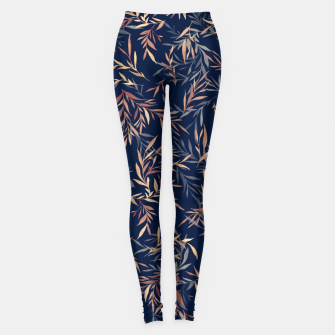 Thumbnail image of Simple Form Leaf Leggings, Live Heroes