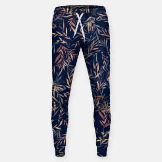 Thumbnail image of Simple Form Leaf Cotton sweatpants, Live Heroes