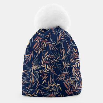 Thumbnail image of Simple Form Leaf Beanie, Live Heroes