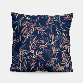 Thumbnail image of Simple Form Leaf Pillow, Live Heroes