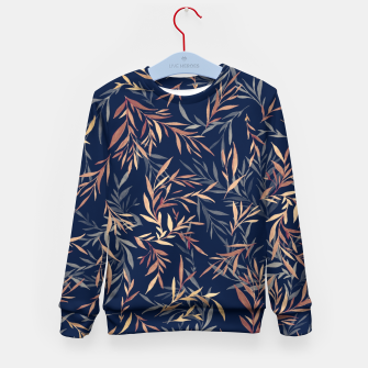 Thumbnail image of Simple Form Leaf Kid's sweater, Live Heroes