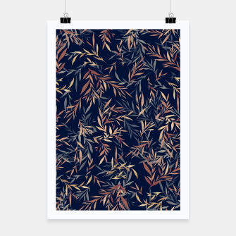 Thumbnail image of Simple Form Leaf Poster, Live Heroes