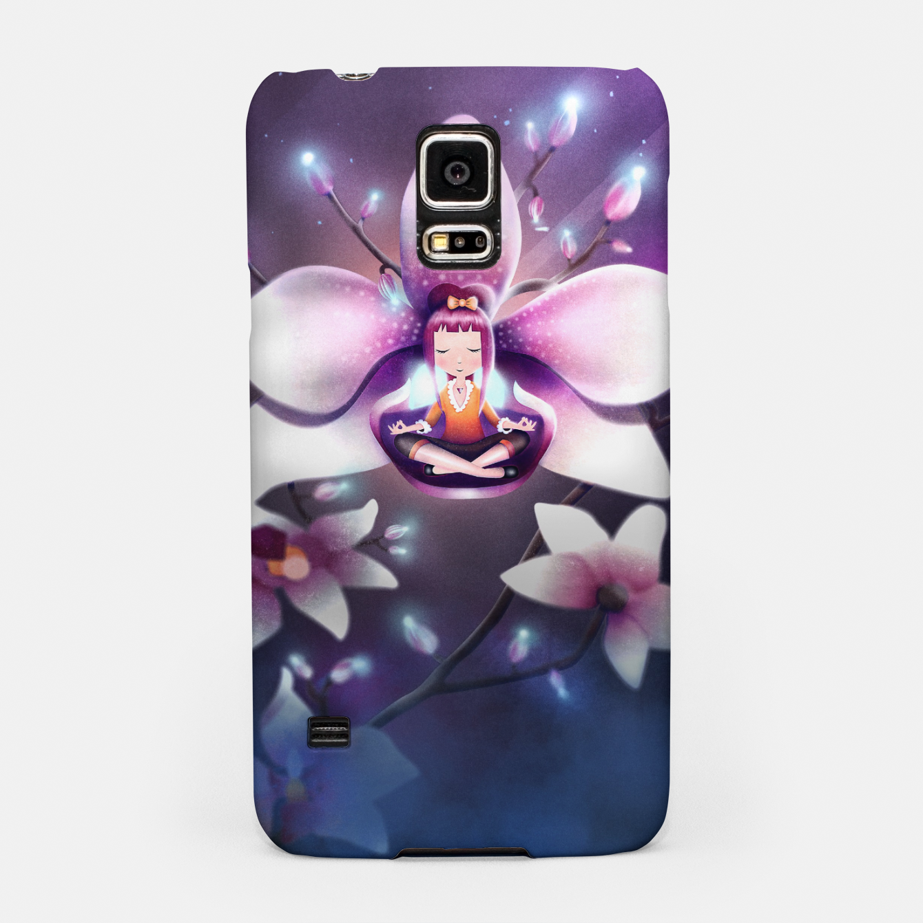 Image of Orchid Medtiation Samsung Case - Live Heroes