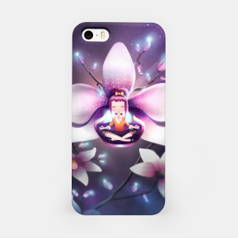Miniatur Orchid Medtiation iPhone Case, Live Heroes