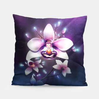 Miniatur Orchid Medtiation Pillow, Live Heroes