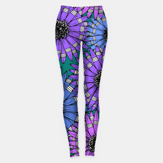 Thumbnail image of Daisies Blue Leggings, Live Heroes