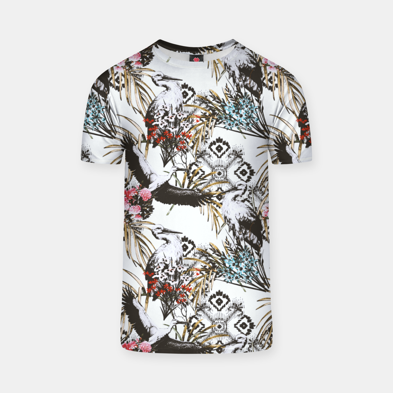 Image of Asian pattern 01 Camiseta - Live Heroes