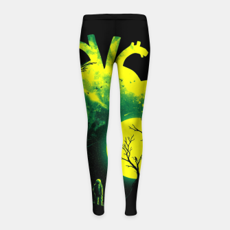 Miniature de image de A Beat of Space 2 Girl's leggings, Live Heroes