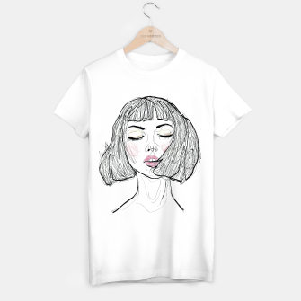 Miniaturka Breathe In __ Fashion Illustration Portrait T-shirt regular, Live Heroes