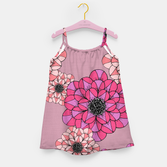 Thumbnail image of Abstract Flowers Girl's dress, Live Heroes